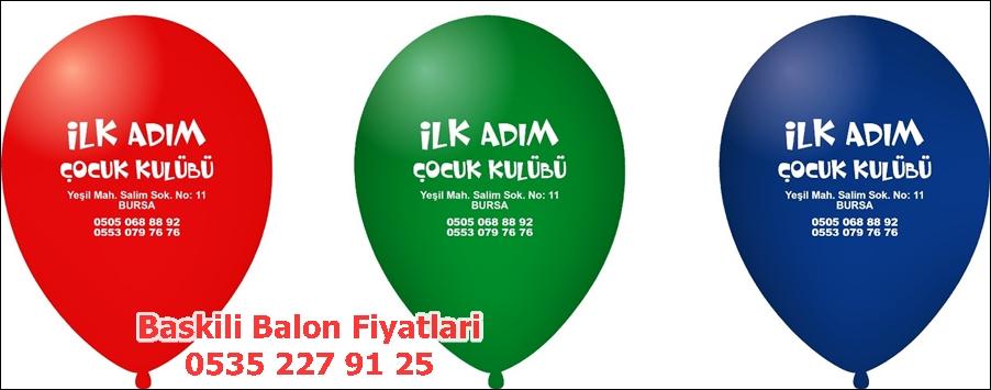 yazili resimli balon fiyatlari